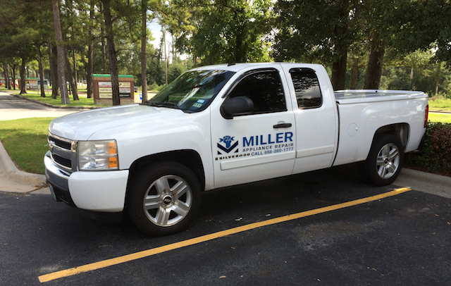 miller appliance repair truck